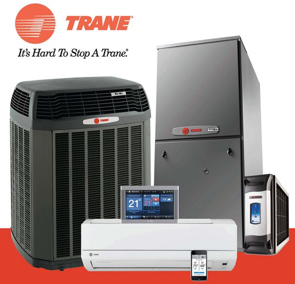 Trane it's hard to stop a Trane - products